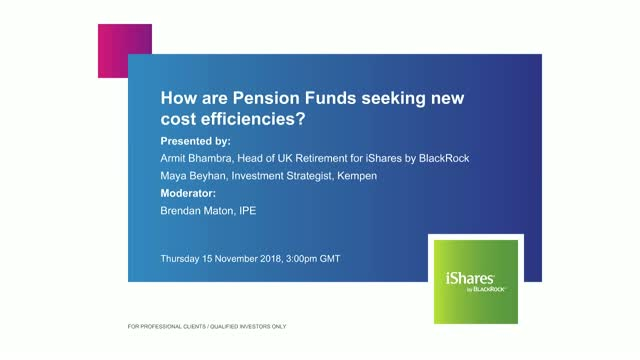 How are Pension Funds seeking new cost efficiencies?