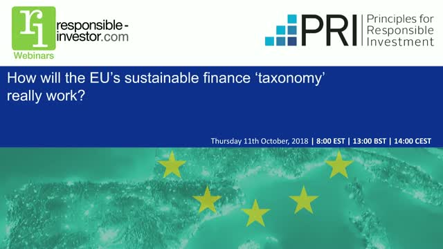 How will the EU's sustainable finance 'taxonomy' really work?