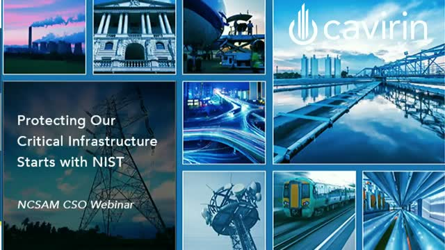 Protecting Our Critical Infrastructure Starts with NIST CSF [NCSAM]