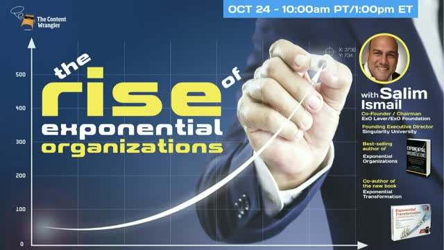The Rise of Exponential Organizations (ExO)