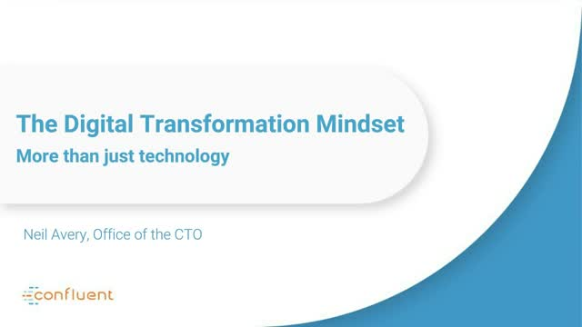 Digital Transformation Mindset - More Than Just Technology