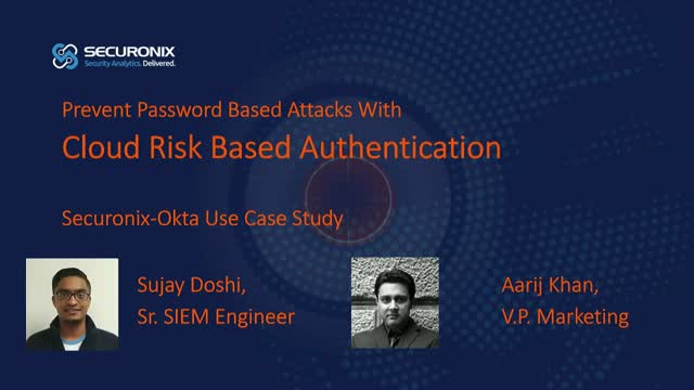 Cloud Risk-Based Authentication To Prevent Password Based Attacks