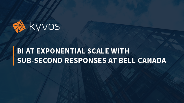 BI at Exponential Scale with Sub-Second Responses at Bell Canada