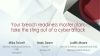 Your breach readiness master plan: take the sting out of a cyber attack