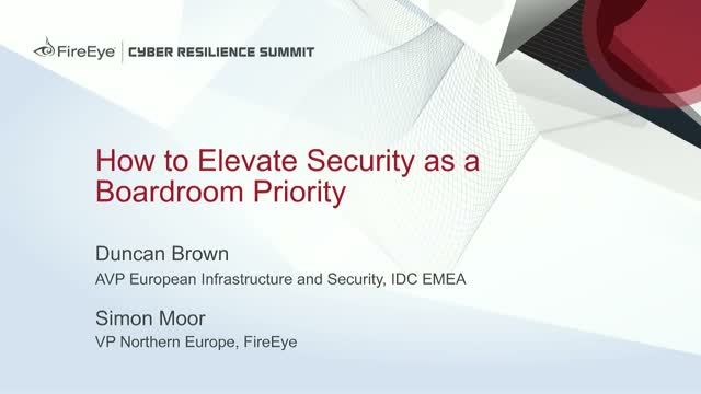 How to Elevate Security as a Boardroom Priority