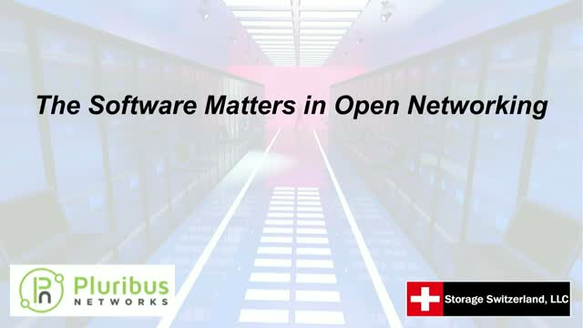 The Software Matters in Open Networking