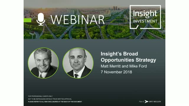 Insight's Broad Opportunities Strategy Review and Outlook | November 2018