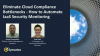 Eliminate Cloud Compliance Bottlenecks: How to Automate IaaS Security Monitoring