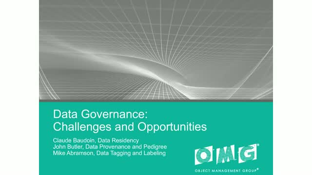 Data Governance: Challenges and Opportunities