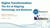 Digital Transformation: The Art of Aligning Technology and Business