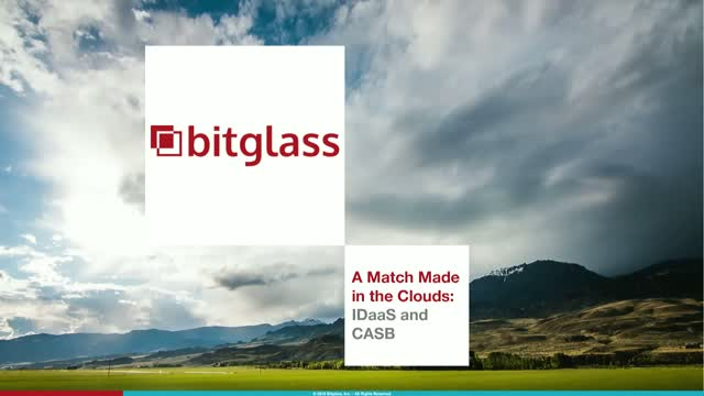 A Match Made in the Clouds: IDaaS and CASB