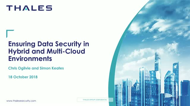 Ensuring Data Security in Hybrid and Multi-Cloud Environments