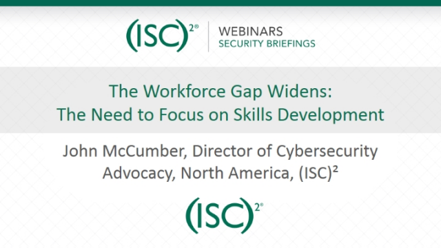The Workforce Gap Widens: The Need to Focus on Skills Development