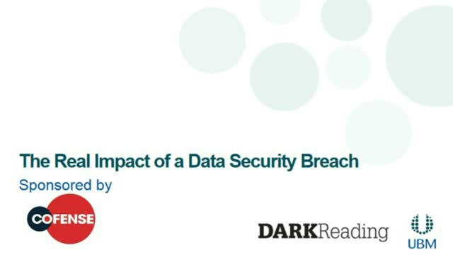 Dark Reading: The Real Impact of a Data Security Breach