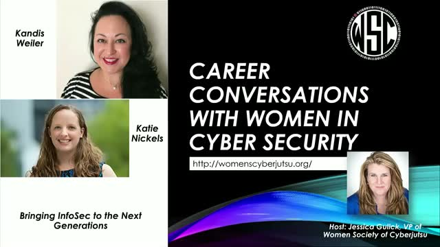 Career Conversations w/ Cyberjutsu Girls Academy Leadership Team