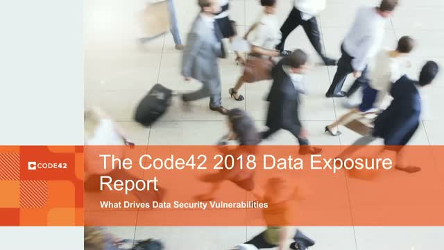 2018 Data Exposure Report