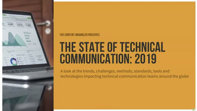 The State of Technical Communication: 2019