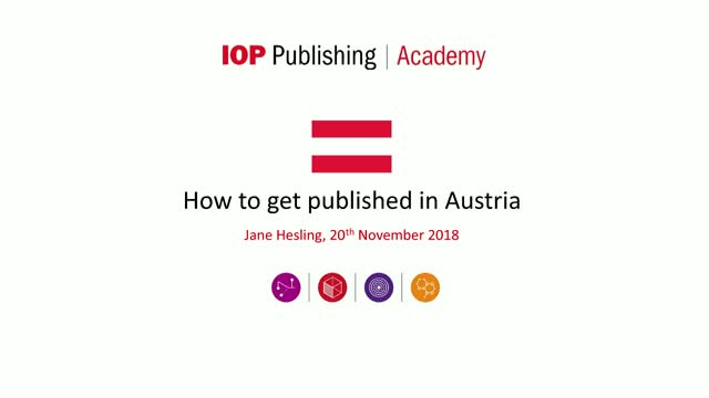 How to get published in Austria
