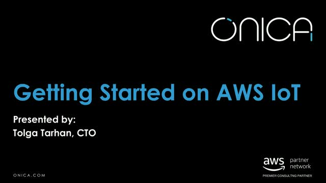 Getting Started with AWS IoT Demo