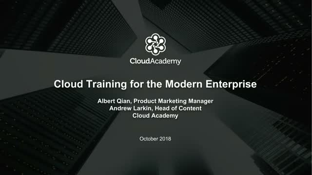 Cloud Training for the Modern Enterprise