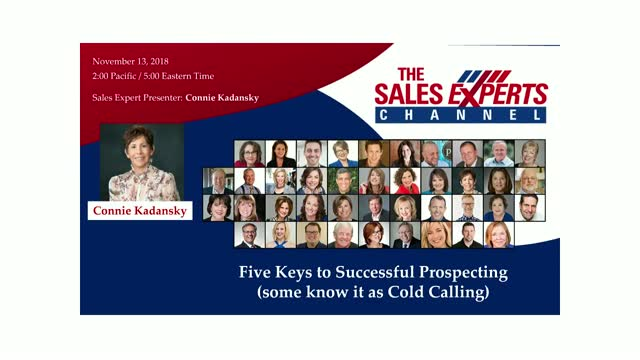 Five Keys to Successful Prospecting (some refer to it as Cold Calling)