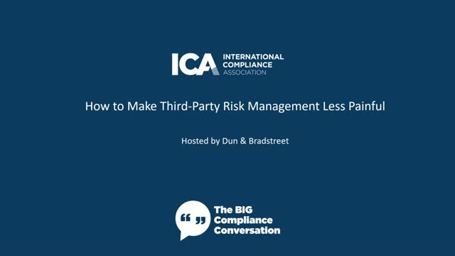 How to Make Third-Party Risk Management Less Painful