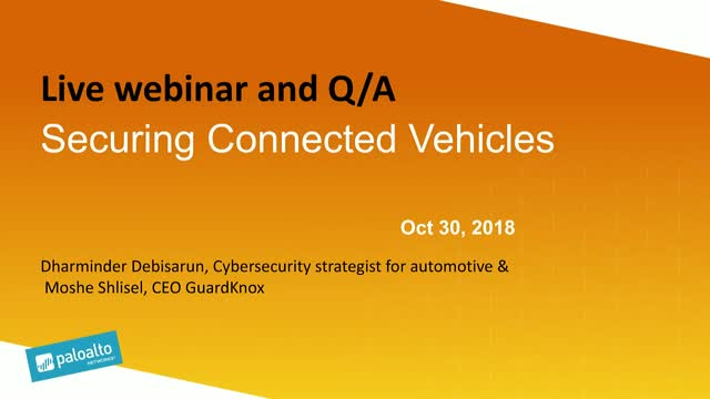 Securing Connected Vehicles