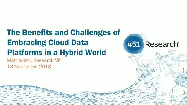 The Benefits and Challenges of Embracing Cloud Data Platforms in a Hybrid World