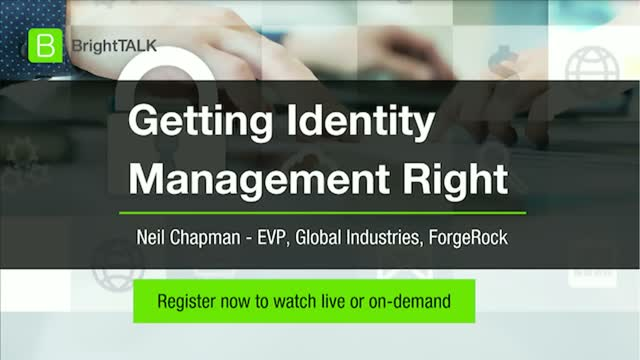 Getting Identity Management Right