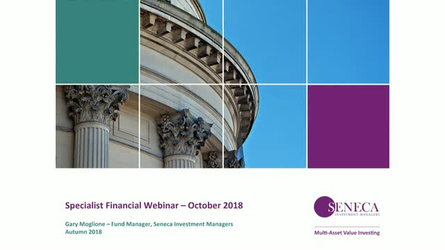 Specialist Financial Webinar