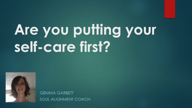 Are you putting your self-care first?