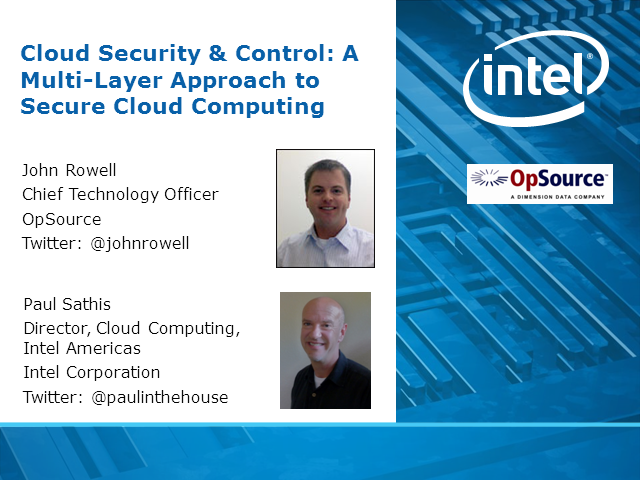 Cloud Security & Control: A Multi-Layer Approach to Secure Cloud Computing