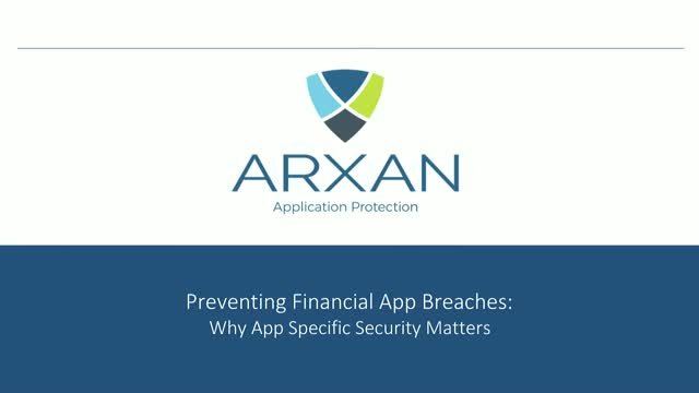 Preventing Financial Application Breaches: Why App Security Matters