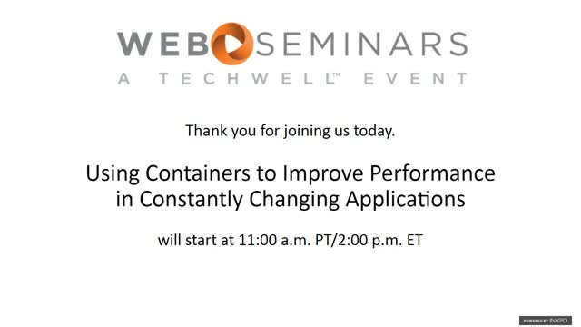 Using Containers to Improve Performance in Constantly Changing Applications
