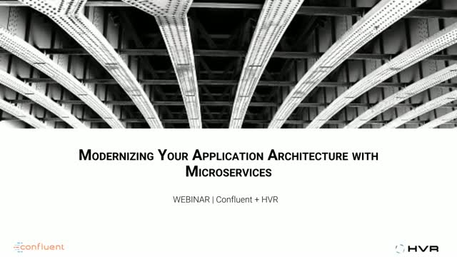 Modernizing Your Application Architecture with Microservices