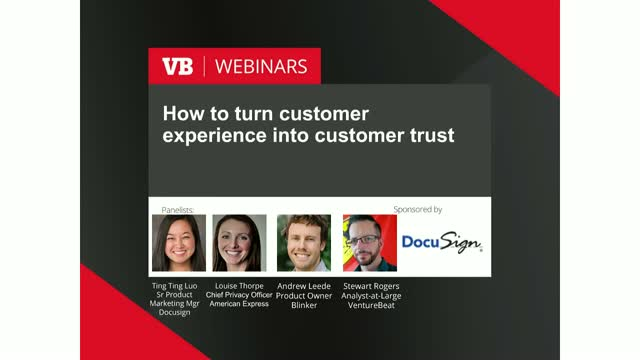 How to turn customer experience into customer trust