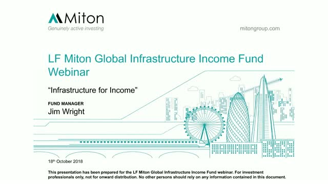 Infrastructure for Income - Miton Webinar