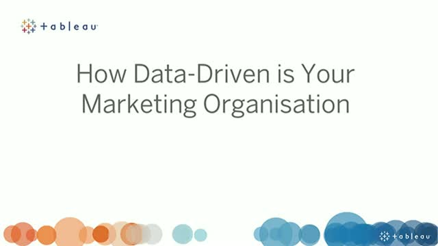How Data-Driven is Your Marketing Organisation?