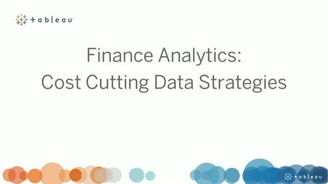 Cost cutting data strategies