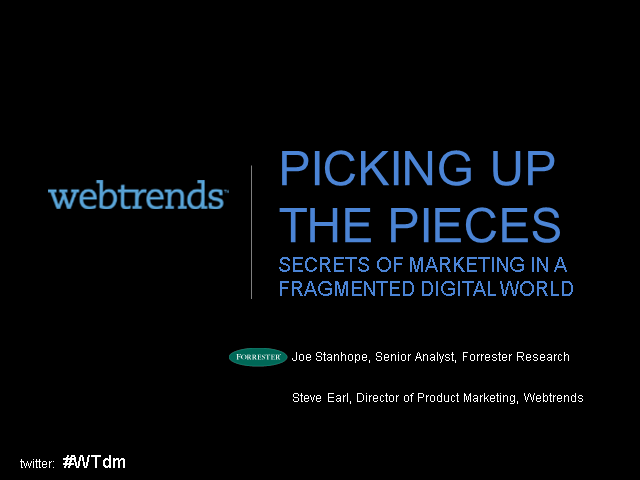 Picking Up the Pieces: Secrets of Marketing in a Fragmented Digital World
