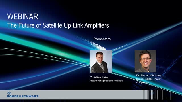The future of satellite uplink amplifiers