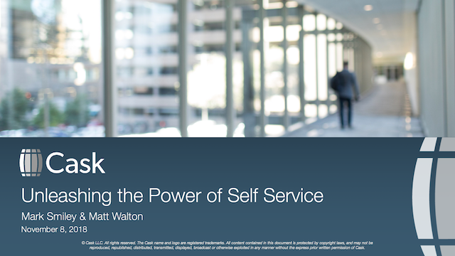 Unleashing the Power of Self Service