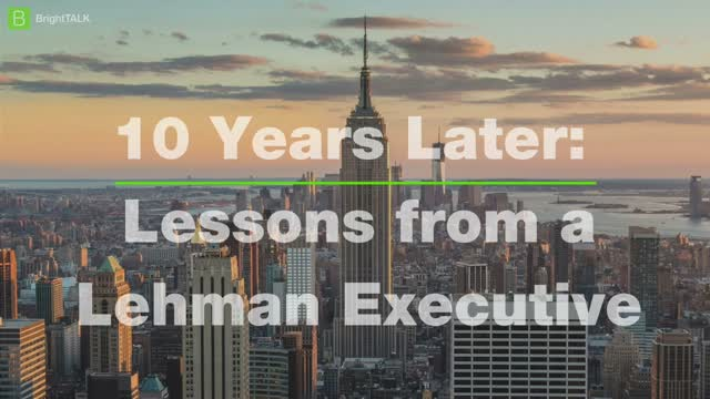 10 Years Later: Insights from a Wall Street & Private Equity Executive