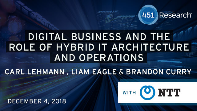 Digital Business and the Role of Hybrid IT Architecture and Operations