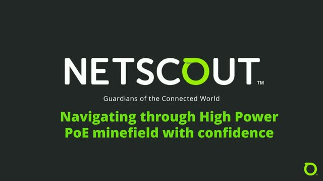 Navigating the High Power PoE minefield with confidence