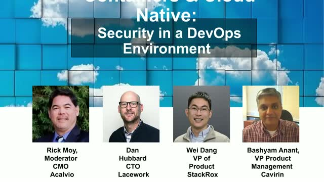 Containers and Cloud-Native: Security in a DevOps Environment