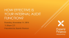 How Effective is Your Internal Audit Function?