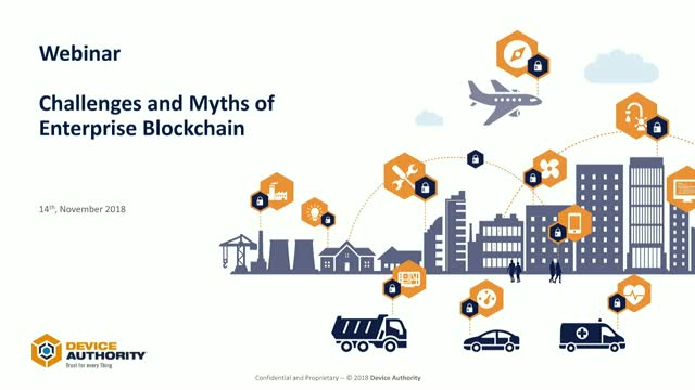 Challenges and Myths of Enterprise Blockchain