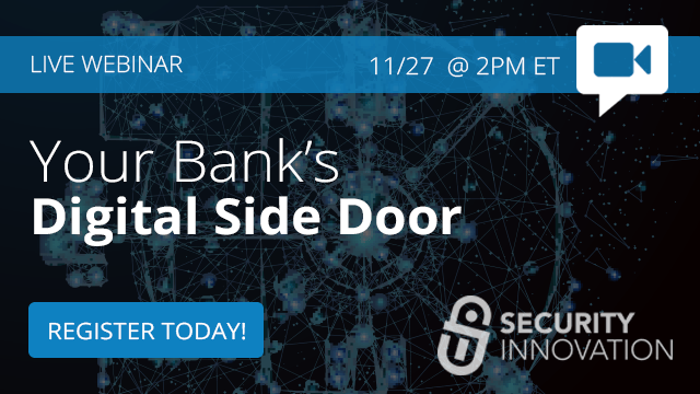 Your Bank's Digital Side Door