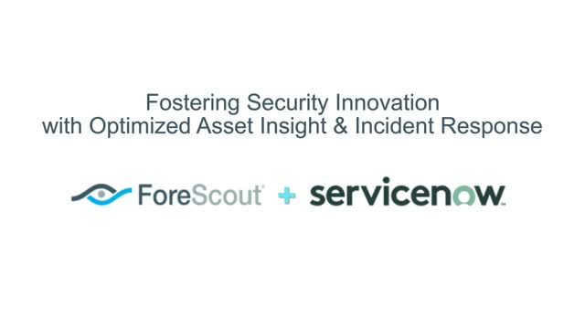 Fostering Security Innovation with Optimized Asset Insight & Incident Response